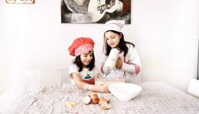 in cucina con mamma!